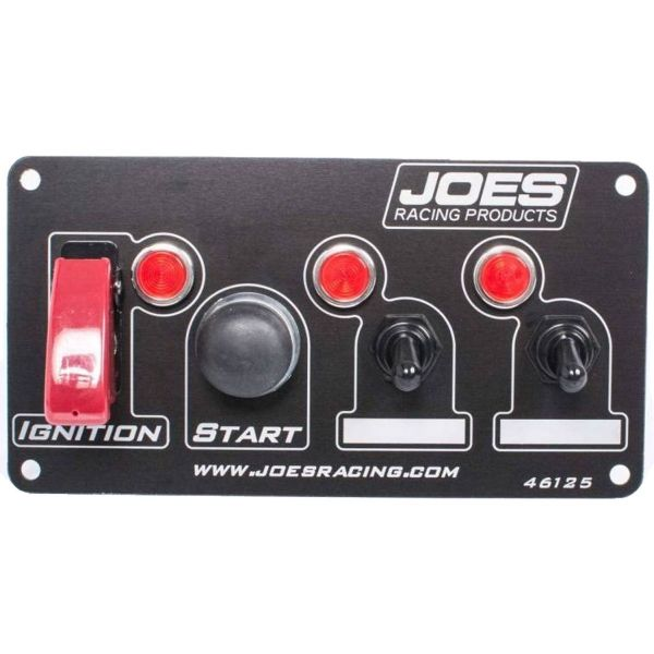 JOES Switch Panel: Ignition, Start, 2 Accessory w/ Lights